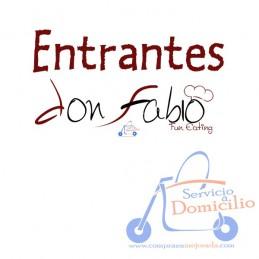 Entrantes Don Fabio Alitas de Pollo (6 und)