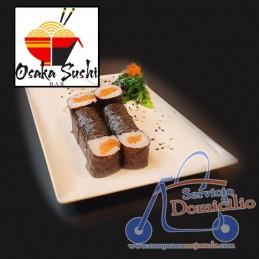Temakis Osaka Sushi Bar Salmón  Con queso crema, salmón y aguacate